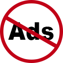 No ads icon - Post Local Ads Backpage